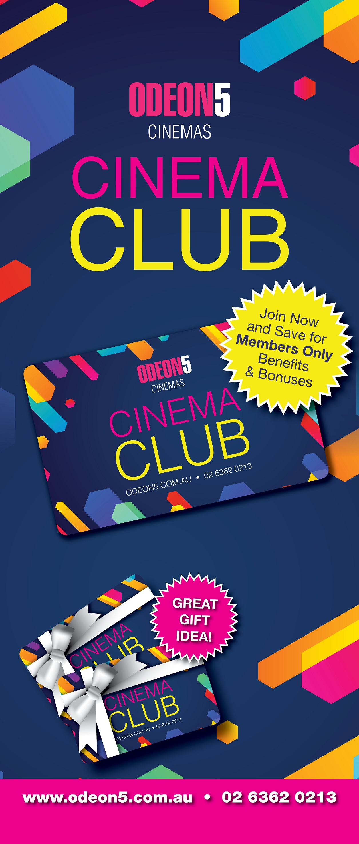 Join the Orange Cinema Club today!